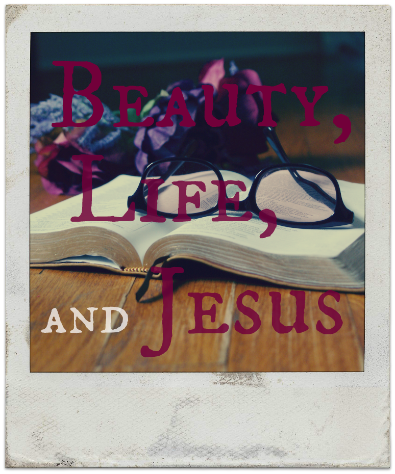 Conversations on Beauty, Life, & Jesus - button
