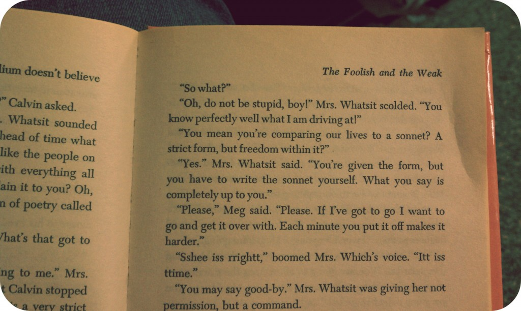 A Wrinkle in Time quote