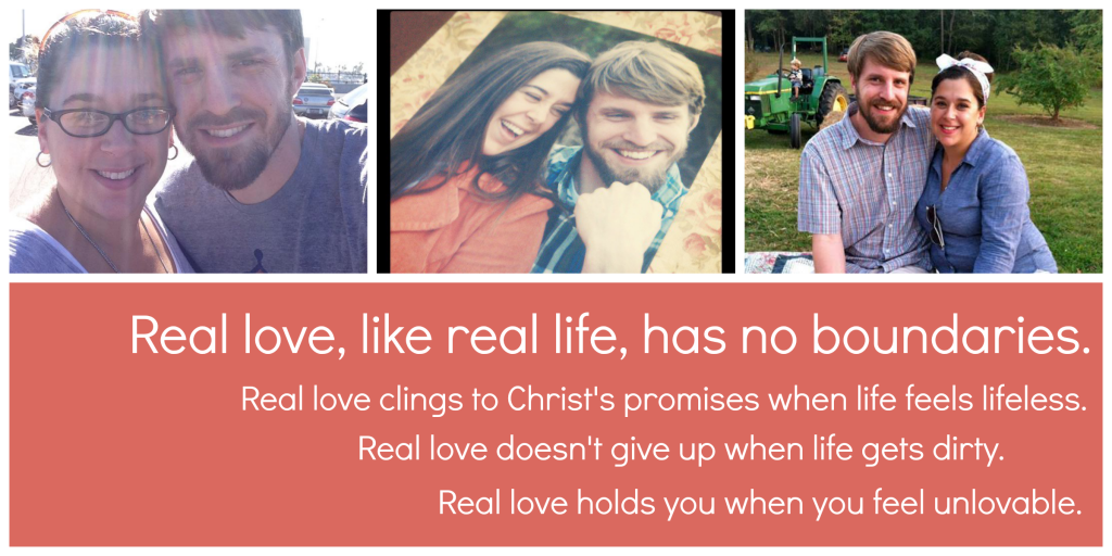 Real love, like real life, has no boundaries.