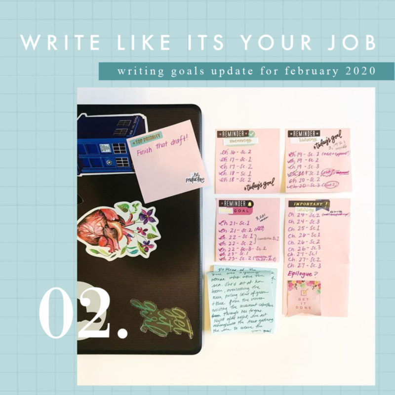 Write Like It's Your Job: February Update